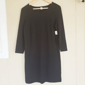NWT Old Navy Medium Black Midi Dress